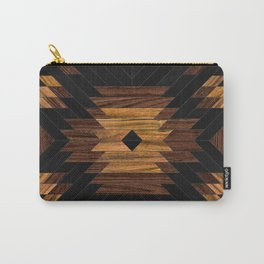 Urban Tribal Pattern 7 - Aztec - Wood Carry-All Pouch