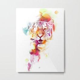 TigerColour Metal Print