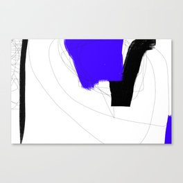 Blocks-Blue Note Canvas Print