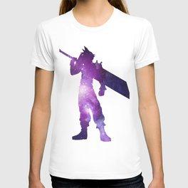 Purple Space Cloud Strife T-shirt