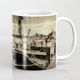 Thames Sailing Barges Vintage Coffee Mug