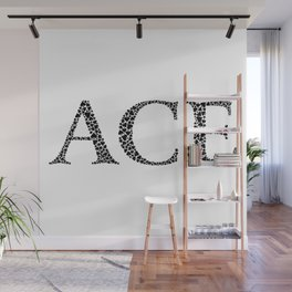 Ace of Spades Wall Mural