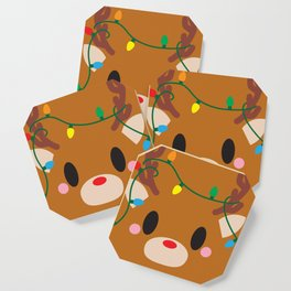 Reindeer Block - Limited Edition Coaster
