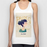 pride and prejudice Tank Tops featuring Pride and Prejudice by Nan Lawson