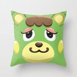 Animal Crossing Charlise Throw Pillow