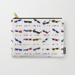 3D Movie Glasses pattern Carry-All Pouch