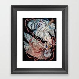 Memory & Regret Framed Art Print