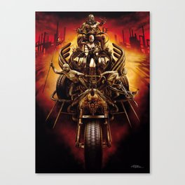Finamore Giorgio for Mad Max Fury Draw Canvas Print