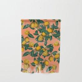 Lemon and Leaf Wall Hanging