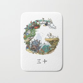 Studio Ghibli Bath Mat