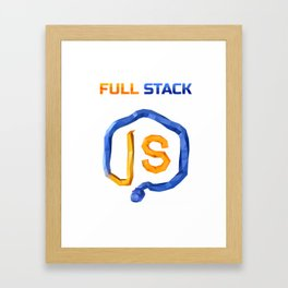 CheckiO Full Stack Framed Art Print