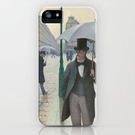 Paris Street; Rainy Day iPhone Case