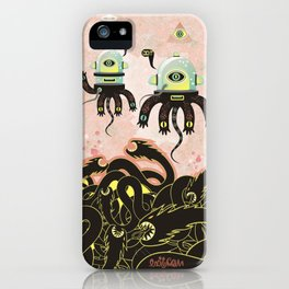 Over the Dragon sea iPhone Case