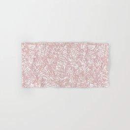 crisscross-pink Hand & Bath Towel