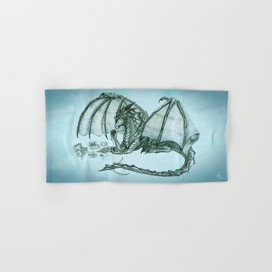 Material Girl ~ Sea Mist ~ Dragon Hand & Bath Towel