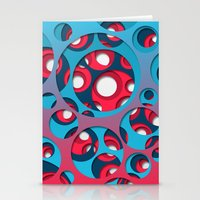 vertigo Stationery Cards featuring Vertigo by Azarias