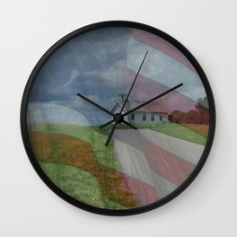Free to Learn Wall Clock
