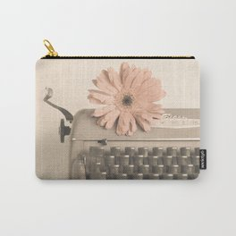 Soft Typewriter (Retro and Vintage Still Life Photography) Carry-All Pouch