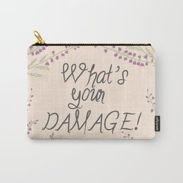 What's your Damage! Carry-All Pouch