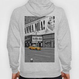 NYC - Yellow Cabs - Musical Hoody
