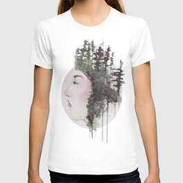 """Sometimes, even the snow is sad."" T-shirt"