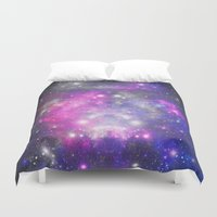 universe Duvet Covers featuring Universe by haroulita