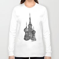 moscow Long Sleeve T-shirts featuring Moscow by Name