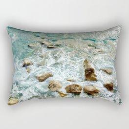 Sunday Sea Splash Rectangular Pillow