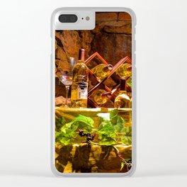Biltmore Wine Clear iPhone Case