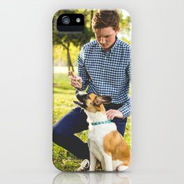 Dog by Zach Lucero iPhone Case