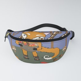 Autumn Fox in the Woods Fanny Pack