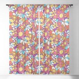Flower Child Sheer Curtain