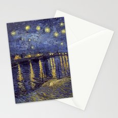Vincent Van Gogh Starry Night Over The Rhone Stationery Cards