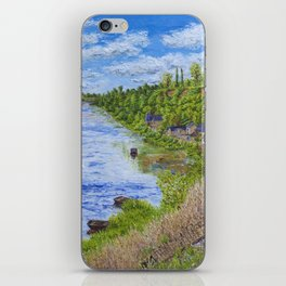 Chinon France iPhone Skin