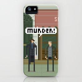 Sherlock 221B iPhone Case
