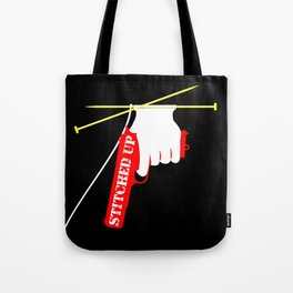 Stitched Up Tote Bag