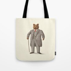 Mr. Bear Tote Bag