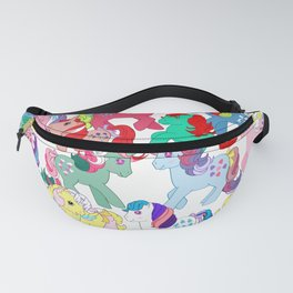 g1 my little pony characters collage Fanny Pack