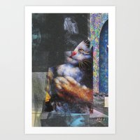 the, for, now, yes!! Art Print