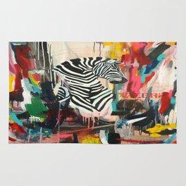 "Series Wild Life ""Le Zebre"" Rug"