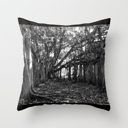 Everglades. Throw Pillow