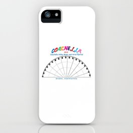 Music and Arts Festival 2019 iPhone Case