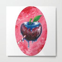 Toffee Apple Metal Print