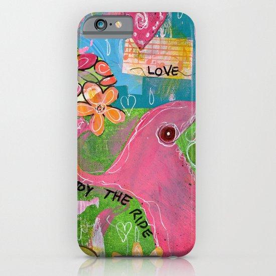 Amazing You Pink Elephant iPhone & iPod Case