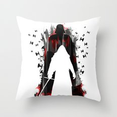 I will finish what you started Throw Pillow
