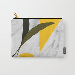 Tropical Marble Carry-All Pouch