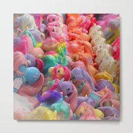 My Little Pony horse traders Metal Print