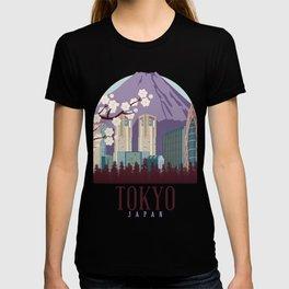 Tokyo Skyline Japan T-shirt