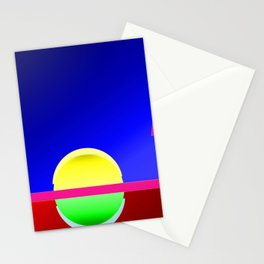 Heaven and hell ... Stationery Cards