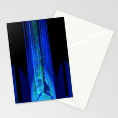 Upload (Green & Blue Channels) Stationery Cards